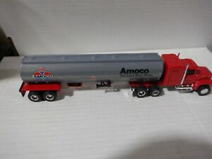 Ertl Amoco Tanker Diecast Truck Red/Gray 1:64 Scale 052821DMT2