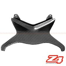 2009-2012 ZX-6R Rear Upper Tail Center Seat Cover Cowling Fairing Carbon Fiber