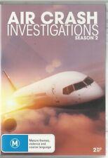 Air Crash Investigations Season 2 - DVD Region 4 VG