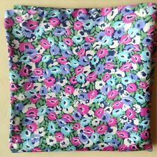 Winter flowers Liberty of London silk pocket square