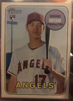 2018 TOPPS HERITAGE ROOKIE CARD OF SHOHEI OHTANI RC | #600 | ANGELS