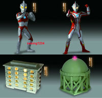 Bandai Ultraman  Luminous Figure 4 Gashapon Mebius Ace Ultimate Tank set 4 pcs