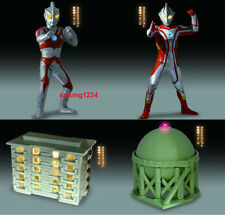 BANDAI Ultraman Luminous 4 Gashapon Mini Figure set of 4 LED Ace Mebius