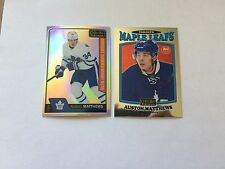 16/17 OPC PLATINUM RETRO R/C. R-66.  AUSTON MATTHEWS. TORONTO MAPLE LEAFS