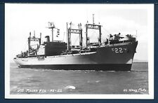 USS MAUNA KEA AE-22 Ammunition Ship Official USN Photo Postcard