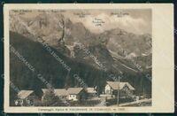 Belluno Comelico Superiore Valgrande Campeggio Alpino cartolina VK3980