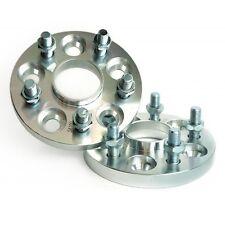 4 Pcs Wheel Spacers 5X114.3 To 5X114.3 ( 5X4.5 )   64.1 CB   12X1.5   15MM Thick