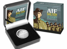 2014 $1 100th Anniversary of the AIF Sail From Albany 1oz Silver Proof Coin
