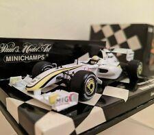 Minichamps 1:43 Scale F1 Brawn BGP001 2009 Jenson Button Spanish GP Winner