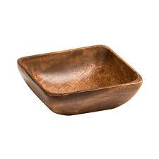 Acacia Wood Small Square Serving Bowl