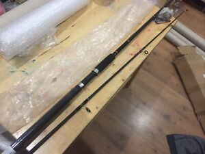 Daiwa Beefstick Surf Rod 8ft Medium 1-2-4oz 12-30lb New