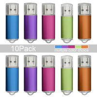 10X 4GB USB Stick 2.0 Speicherstick Flash Drive Memory Laufwerke Speicher Drive