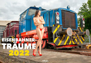 Eisenbahner-Träume - Kalender 2022 I EROTIK, LOKS, SEXY Modelleisenbahn Trafo
