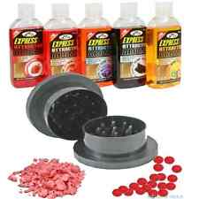 Boilie Grinder / Krusha and 5 x Glugs Bait Boosters Carp Fishing Bait Crusher