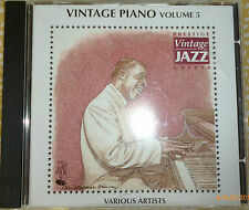CD - Various Artists - Vintage Piano Vol.5 (CD 1996)