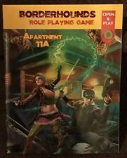 Troll Lord Games BORDERHOUNDS RPG APARTMENT 11A Free RPG Day 2017  QSR+Adventure