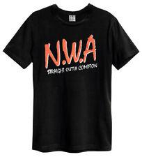 Amplified N.W.A Logo Men's Black T-Shirt