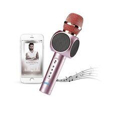 Wireless Handheld KTV Portable Bluetooth Karaoke Player Microphone with Speaker