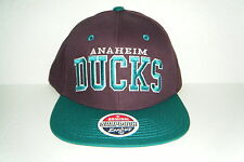 Anaheim Mighty Ducks  Snapback Hat NWT Authentic Cap