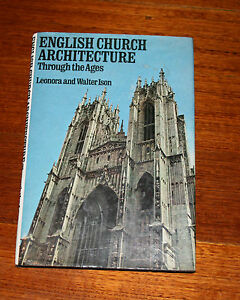 English Church Architecture Through The Ages - Hardcover Book - History
