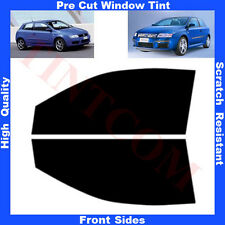 Pre Cut Window Tint Fiat Stilo 3 Doors Hatchback 2001-2007 Front Sides Any Shade