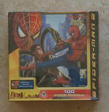 Spiderman 2 Official Movie Puzzle Pressman Marvel Comics 2004 Spider-Man 100 Pcs