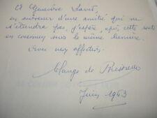 LE COLLIER DU CYGNE NOIR / POÈMES/ SOLANGE DE BRESSIEUX envoi de l'auteur !
