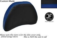 Black R bleu vinyle personnalisé pour HONDA GOLDWING GL1500 88-00 conducteur Dossier Housse