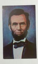Abraham Lincoln at Gettysburg 1863 Old Vintage Postcard A6