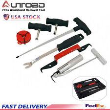 7Pcs Professional Windshield Removal Automotive Wind Glass Remover Tool Kit USA