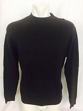 Lot Of 2 Pronto Uomo Thin Rib Knit Crew Neck Sweaters. Large. Men's. Perfect.