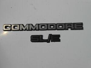 VB VC VH Holden Commodore SLE  Badges SL/E