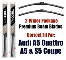 Wipers 2-Pack Premium fit 2008+ Audi A5, A5 Quattro, S5 (Coupe Only) - 19240/200