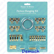 234-0700 2 x 100 Piece Picture Hanging Kit Sontax Brand = 200 pieces