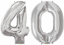 Number Birthday, Adult Party Foil Balloons