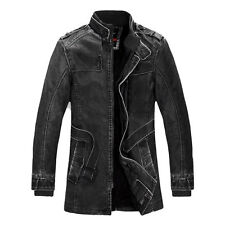 K175974 COAT MENS LARGE NEW DARK GREY U.S. SELLER WINTER JACKET MOTORCYCLE