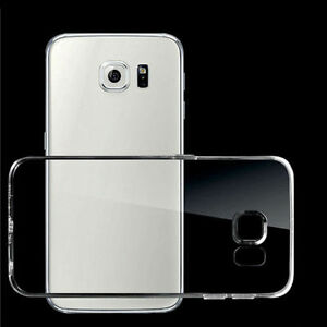 HOT For Samsung Galax Transparent Soft Silicone TPU Ultra Thin Clear Case Cover