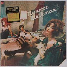 NANETTE WORKMAN: Self Titled '76 Orig BIG TREE Promo Vinyl LP Soul Funk Disco