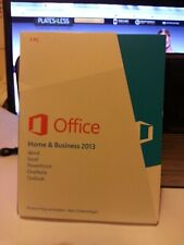 GENUINE MICROSOFT OFFICE HOME AND BUS -SPEC; 32 BIT AND 64 BIT -VERSION GERMAN