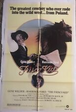 Frisco Kid Original Movie Poster One Sheet Pin-up Gene Wilder Harrison Ford 70's