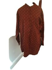 New Orvis Size Xl Shirt Top Ethnic Print Rrp £45