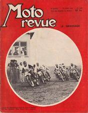 MOTO REVUE . N° 1387. 19 avril 1958. Le graissage. Championnat de cross à Thomer
