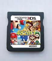 482 in 1 Video Game Cartridge Console For Nintendo NDS NDSL 2DS 3DS NDSI