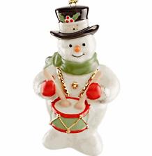 Lenox 2019 Annual Snowy Beat Snowman Ornament
