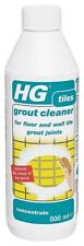 HG Grout Cleaner 500ml Concentrated Cleaner for Wall and Floor Grout Joints