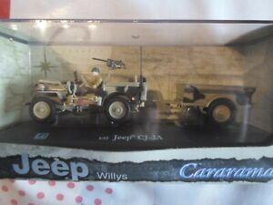 Jeep CJ-2A 1/43 Cararama