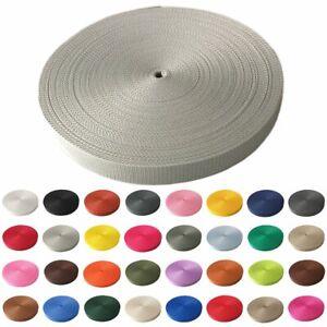 2m Gurtband 25 mm viele Farben Taschenband Trageband Tragegurt Rolladenband
