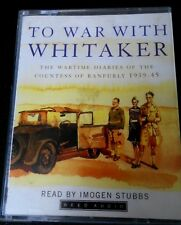 To War With Whitaker - Countess of Ranfurly Diaries - 2 Cassette Tape Audio Book