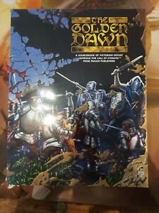 Cthulhu the golden dawn pagan publishing very rare nearly new condition sticker