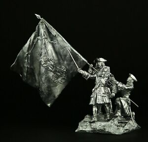 Siege of Barcelona, War of Spanish Succession KIT Tin toy soldier 54 mm. metal